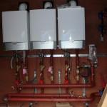 Backup gas boilers
